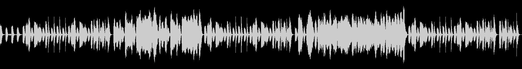 ほのぼのとした作業用BGMの未再生の波形