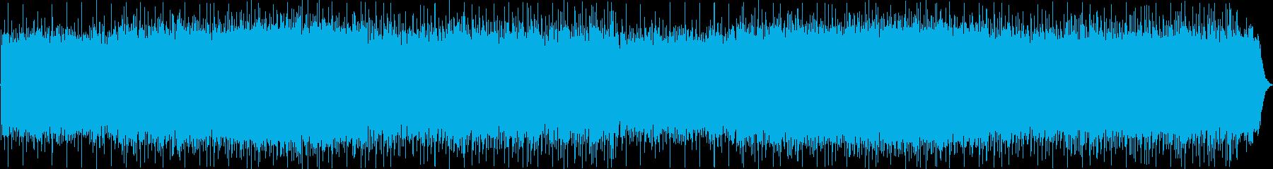 ニューエイジ、ボイスパッド、静かな...の再生済みの波形