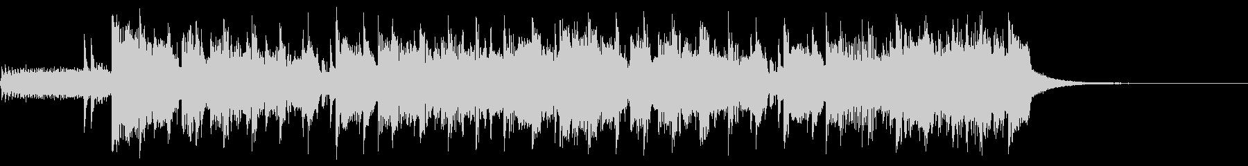 ディスクゴーの未再生の波形