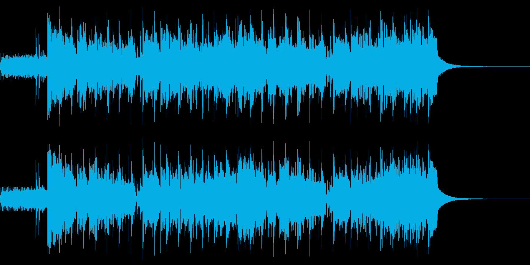 ディスクゴーの再生済みの波形