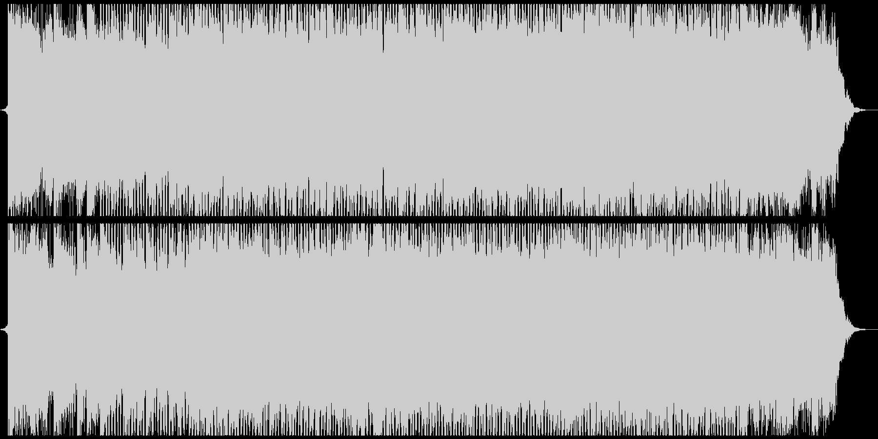 ポップ テクノ モダン ラウンジ ...の未再生の波形