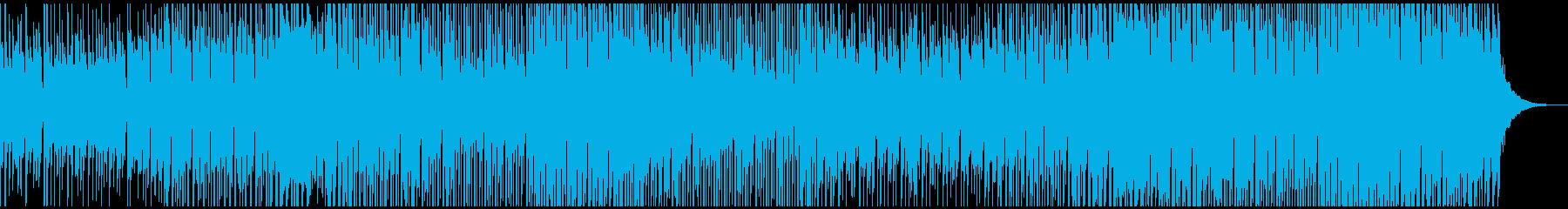 ハウス&ダンスミュージックの再生済みの波形