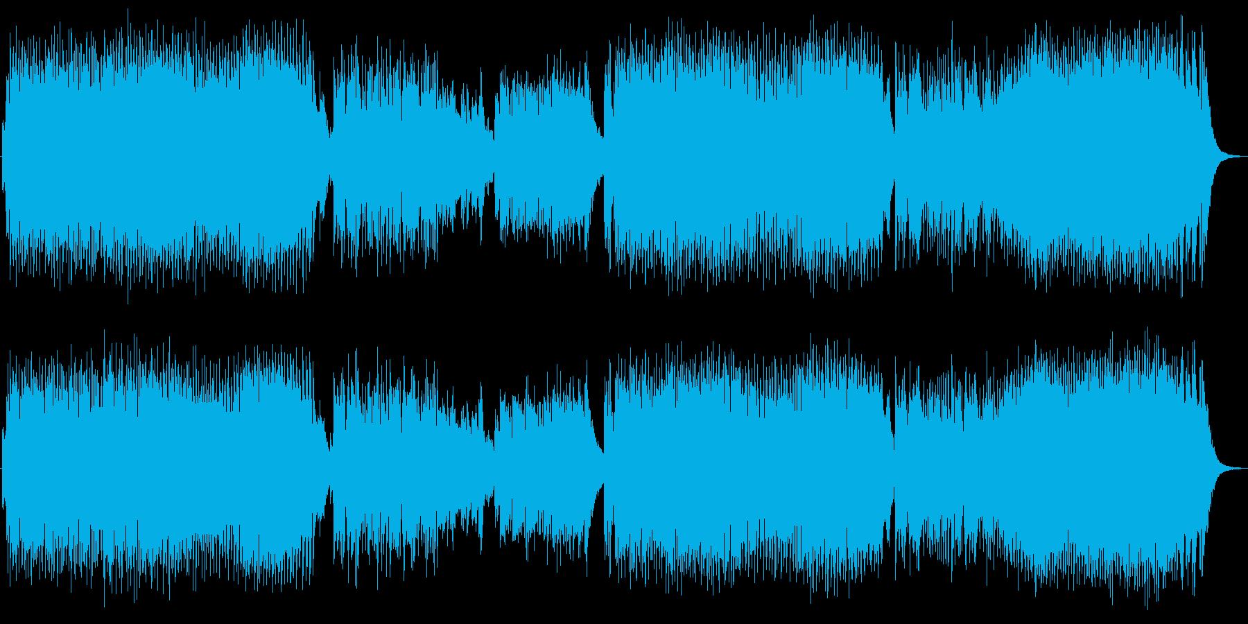 英詞 男声ボーカル ロック ヘヴィメタルの再生済みの波形