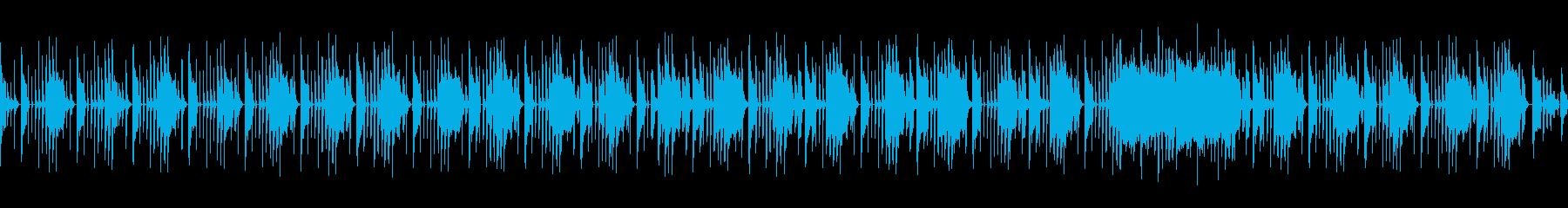 ループ仕様サックスよるファンキーなBGMの再生済みの波形