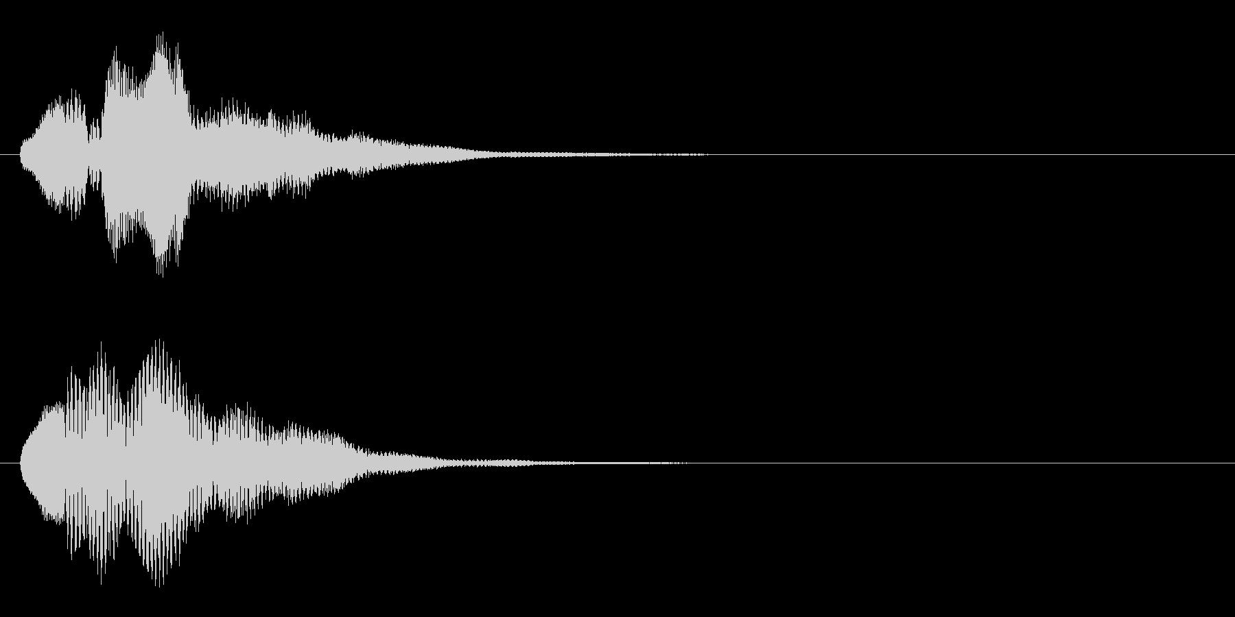 ハープ・上昇_5-2の未再生の波形