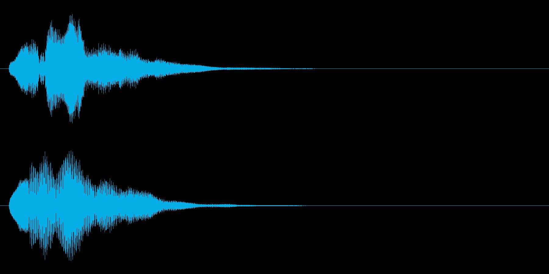 ハープ・上昇_5-2の再生済みの波形