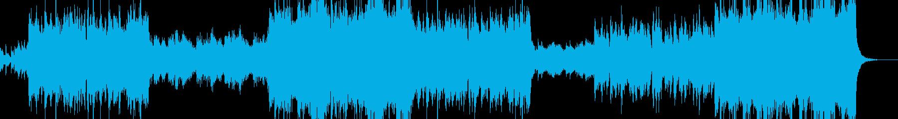 明るい未来の青空の再生済みの波形