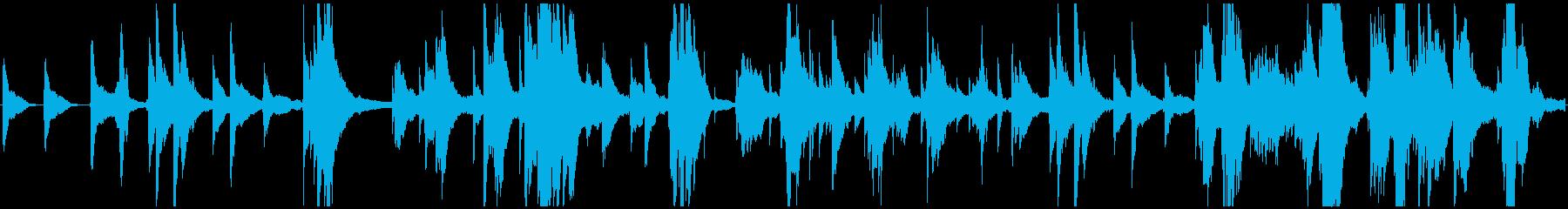 Pianoforte Solo。リ...の再生済みの波形