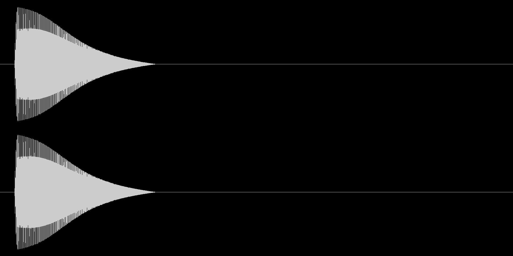 ポイッ↑/ジャンプ/コミカル/デフォルメの未再生の波形