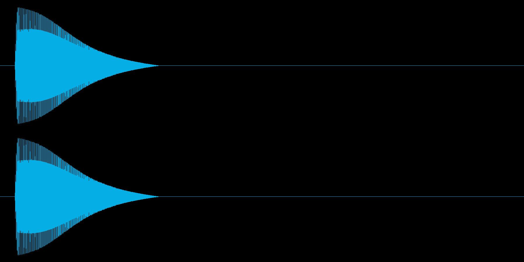 ポイッ↑/ジャンプ/コミカル/デフォルメの再生済みの波形