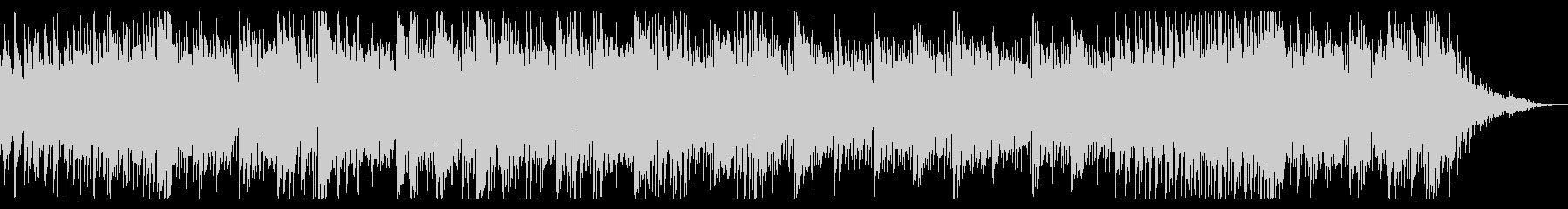 生録音ギターによるオーガニック楽曲の未再生の波形