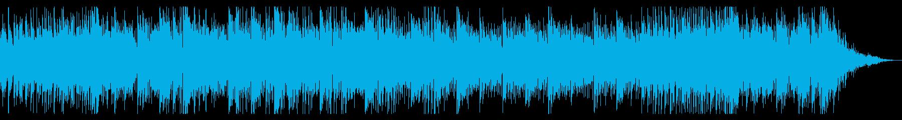 生録音ギターによるオーガニック楽曲の再生済みの波形