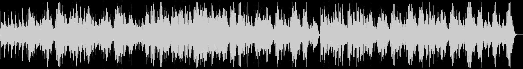 ふんわり心地のいいスローなオルゴールの曲の未再生の波形