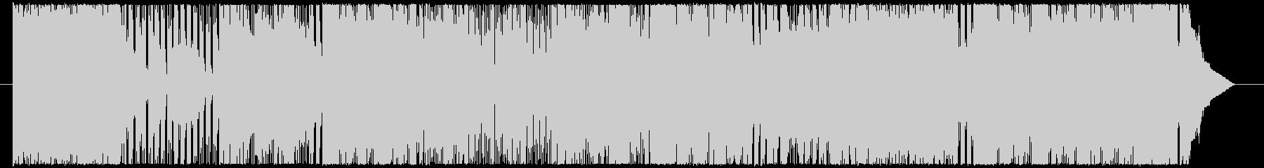 空に星が降るキラキラパワーポップの未再生の波形