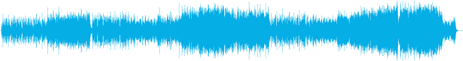 中華・中国・和・華やかな曲の再生済みの波形