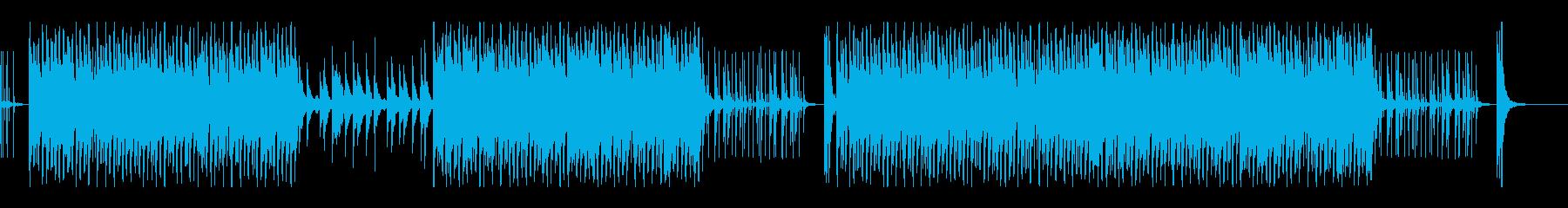 賑やかな和楽器音楽の再生済みの波形
