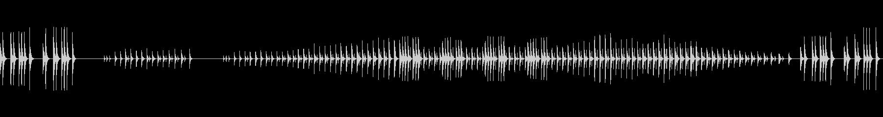 禅の世界-太鼓と木鼓の未再生の波形