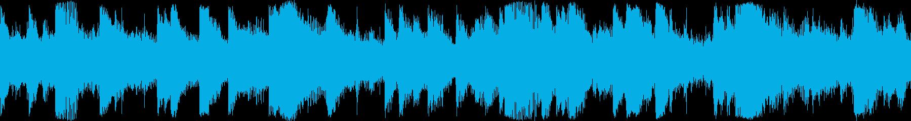 ピアノ、ストリングス、そして若干ラ...の再生済みの波形