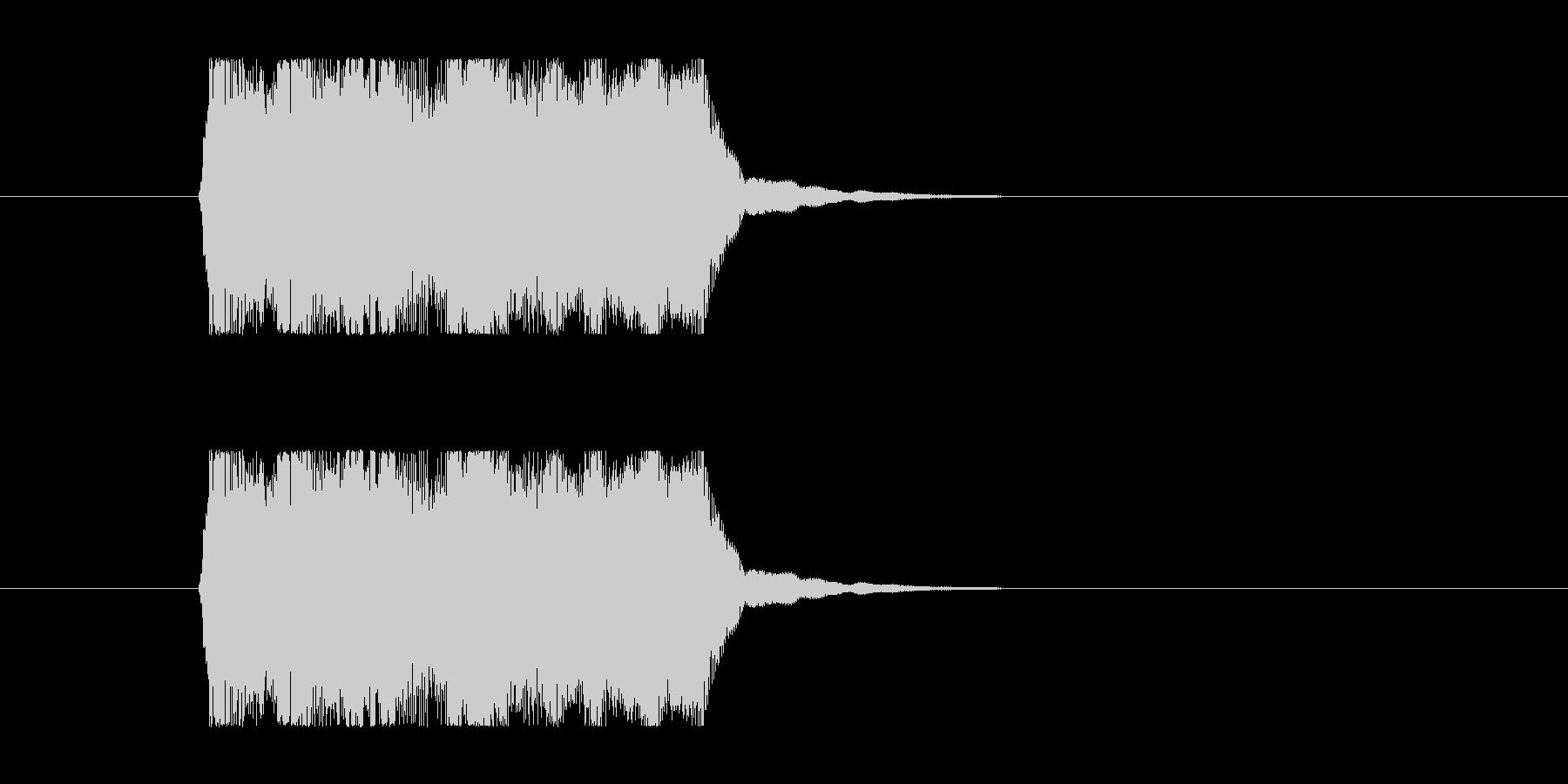 失敗02 タイプBの未再生の波形