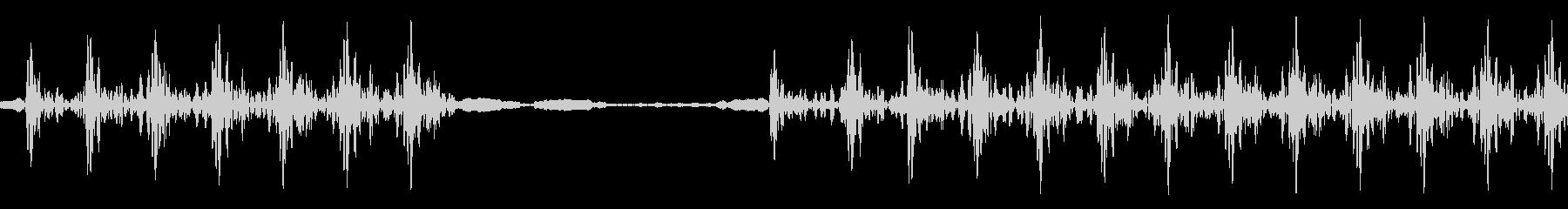 不正解音の未再生の波形
