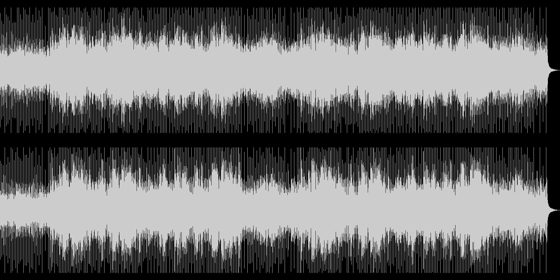 学校・会社紹介に最適なピアノロックBGMの未再生の波形