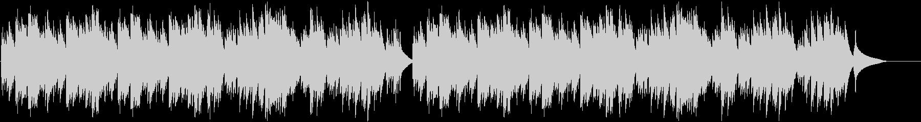 メルヘンでオルゴール調の綺麗な一曲の未再生の波形