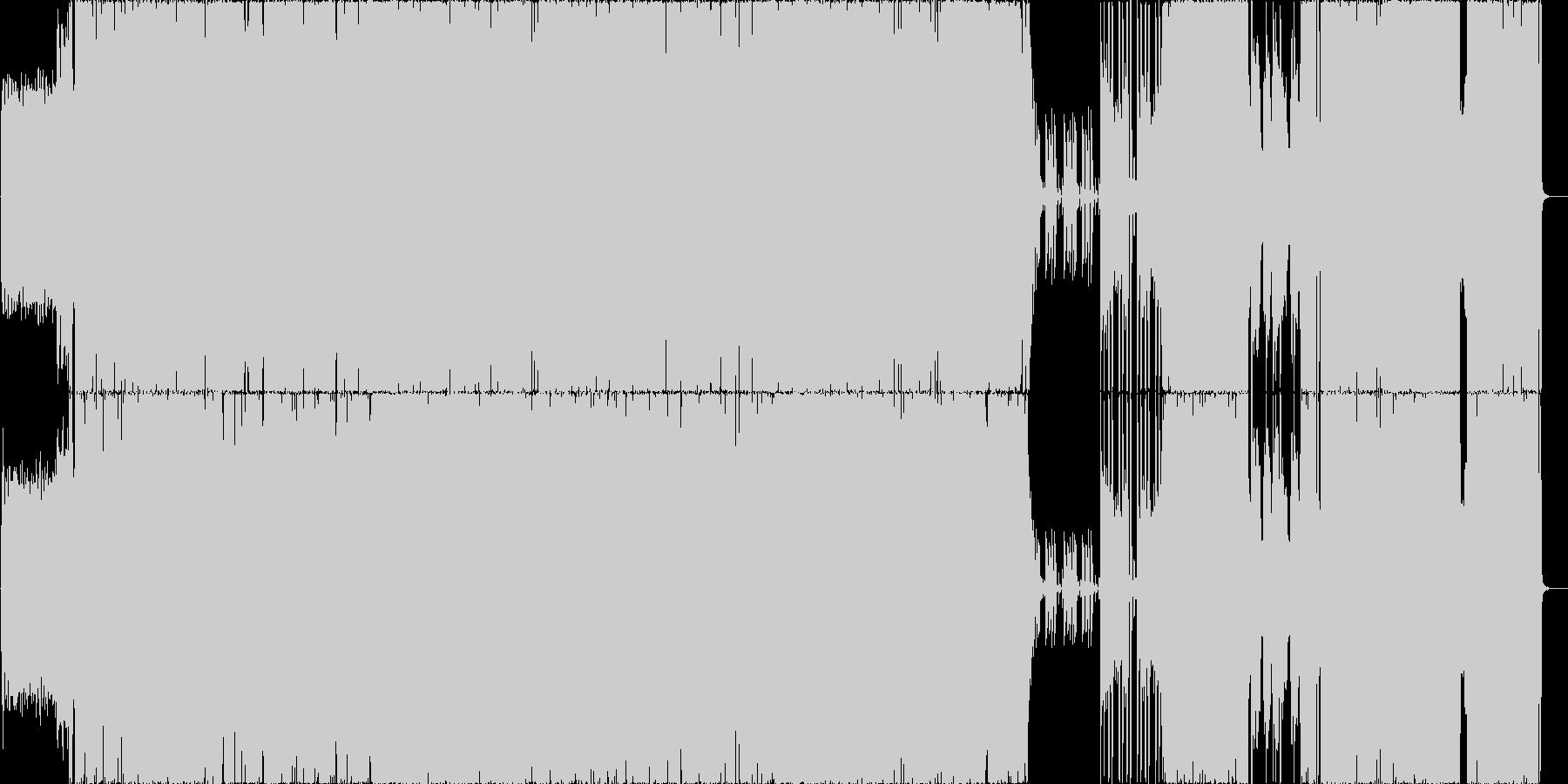 重厚ヘビーRock01 生演奏の未再生の波形