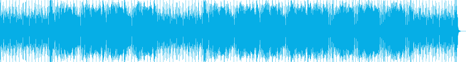 陽気で開放的なスカの再生済みの波形