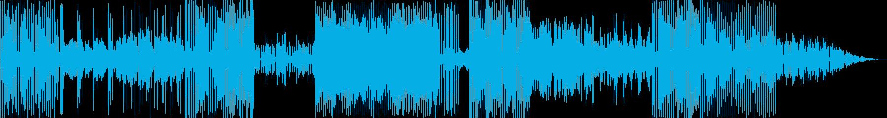 特殊な効果とシンセが緊張した雰囲気...の再生済みの波形