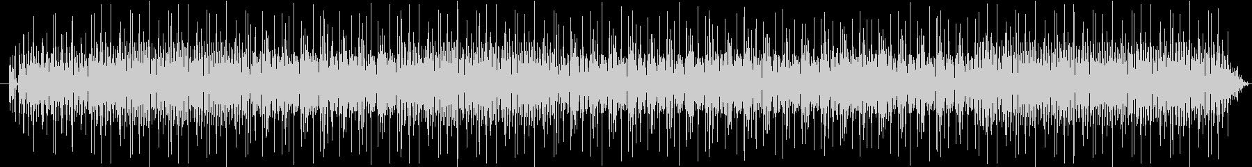 ゆったりとしたラフなレゲエの未再生の波形