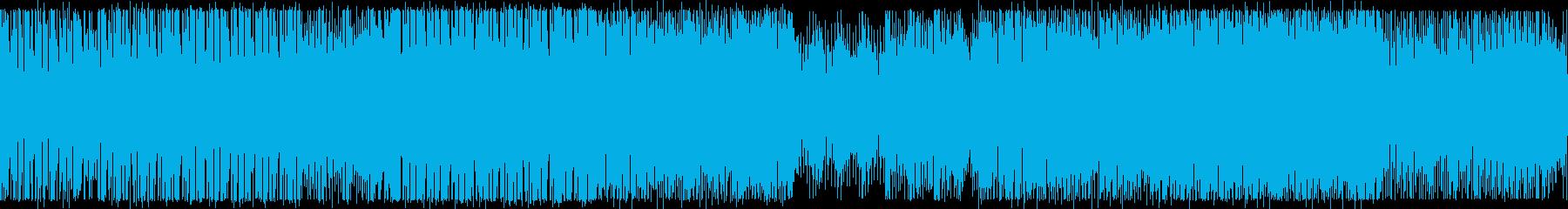 BPM160:ワークアウト:ループ版の再生済みの波形