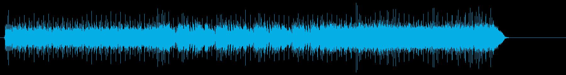ギターの余韻が強烈な鋭角的スピードメタルの再生済みの波形