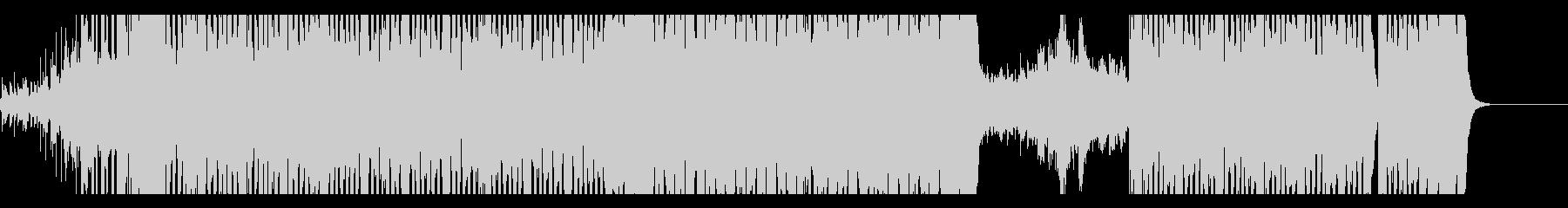 元気でノリのいいEDMの未再生の波形