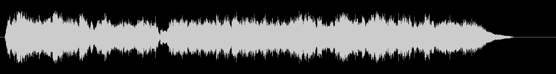 ハートフルで切ないベルベット・ポップスの未再生の波形