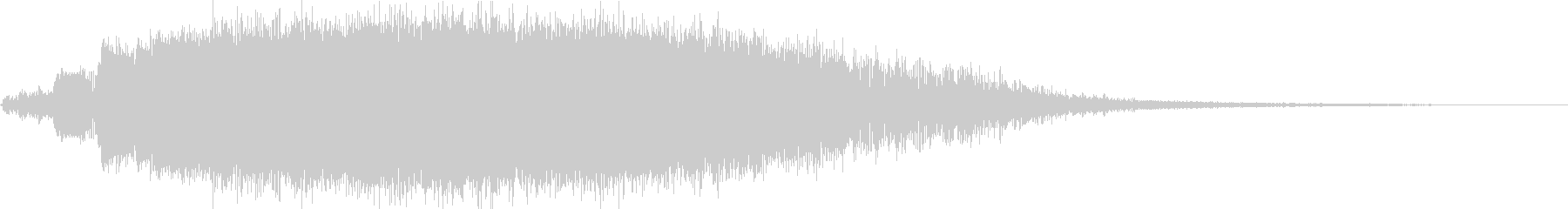 KANT怪獣の鳴き声Middle4の未再生の波形