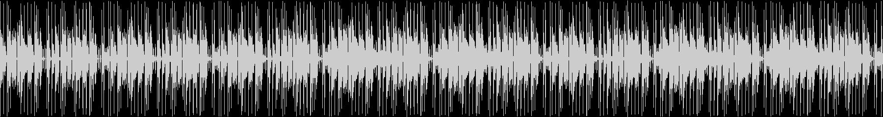 (ループ仕様)怪しさ漂うBGMの未再生の波形