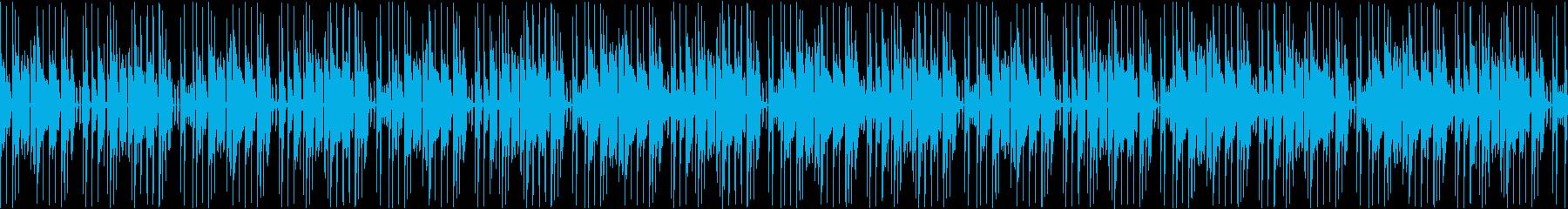 (ループ仕様)怪しさ漂うBGMの再生済みの波形