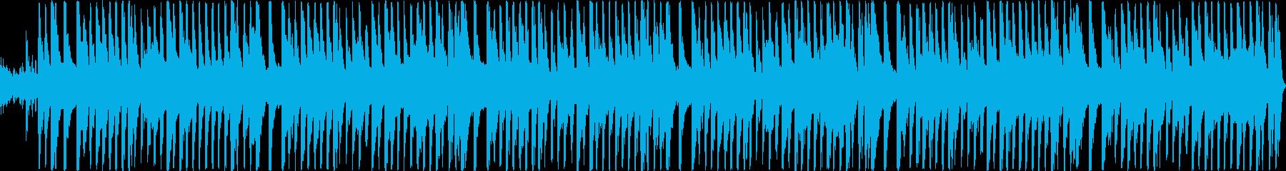 キャッチーな和楽器アレンジの再生済みの波形