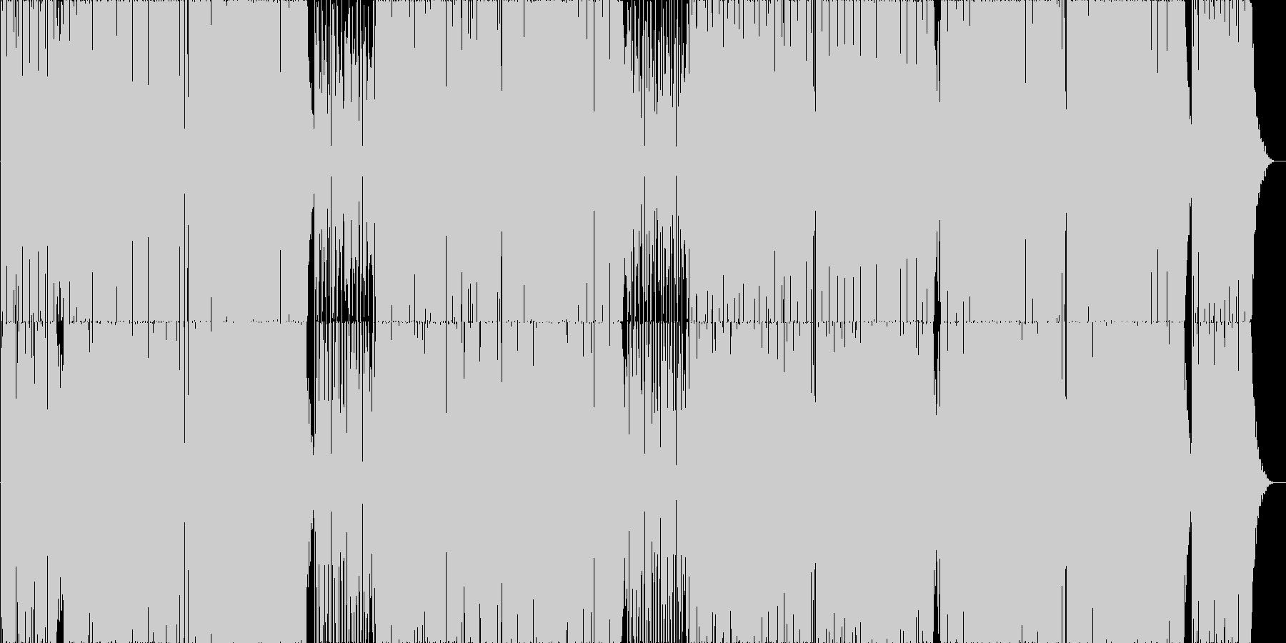 ポップでオシャレなボサノバの未再生の波形