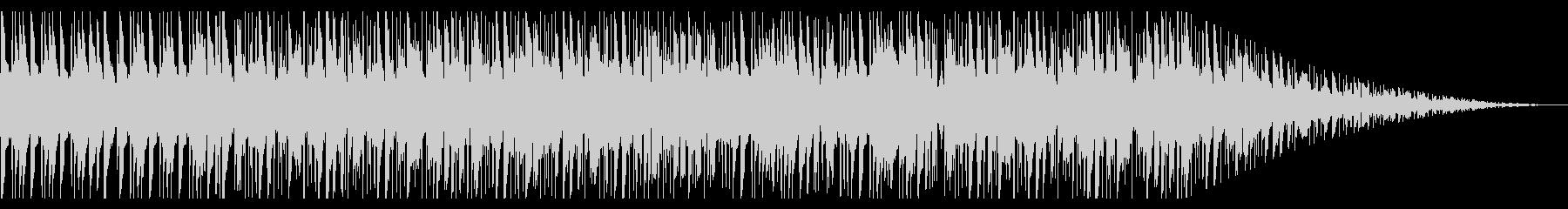 レコードで聴いている様なチルBGM_2の未再生の波形
