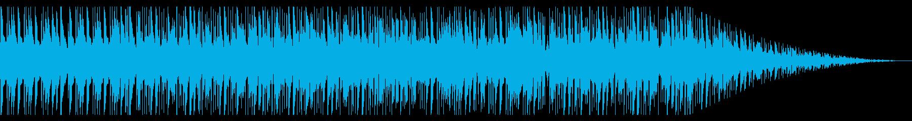 レコードで聴いている様なチルBGM_2の再生済みの波形