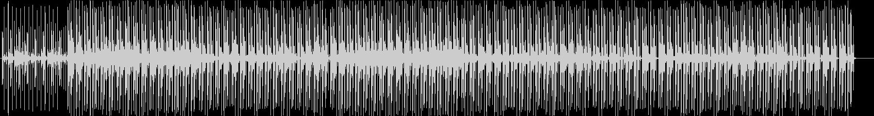 不思議で神秘的なBGMの未再生の波形
