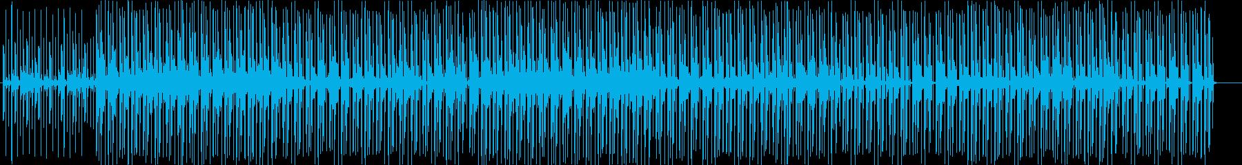 不思議で神秘的なBGMの再生済みの波形