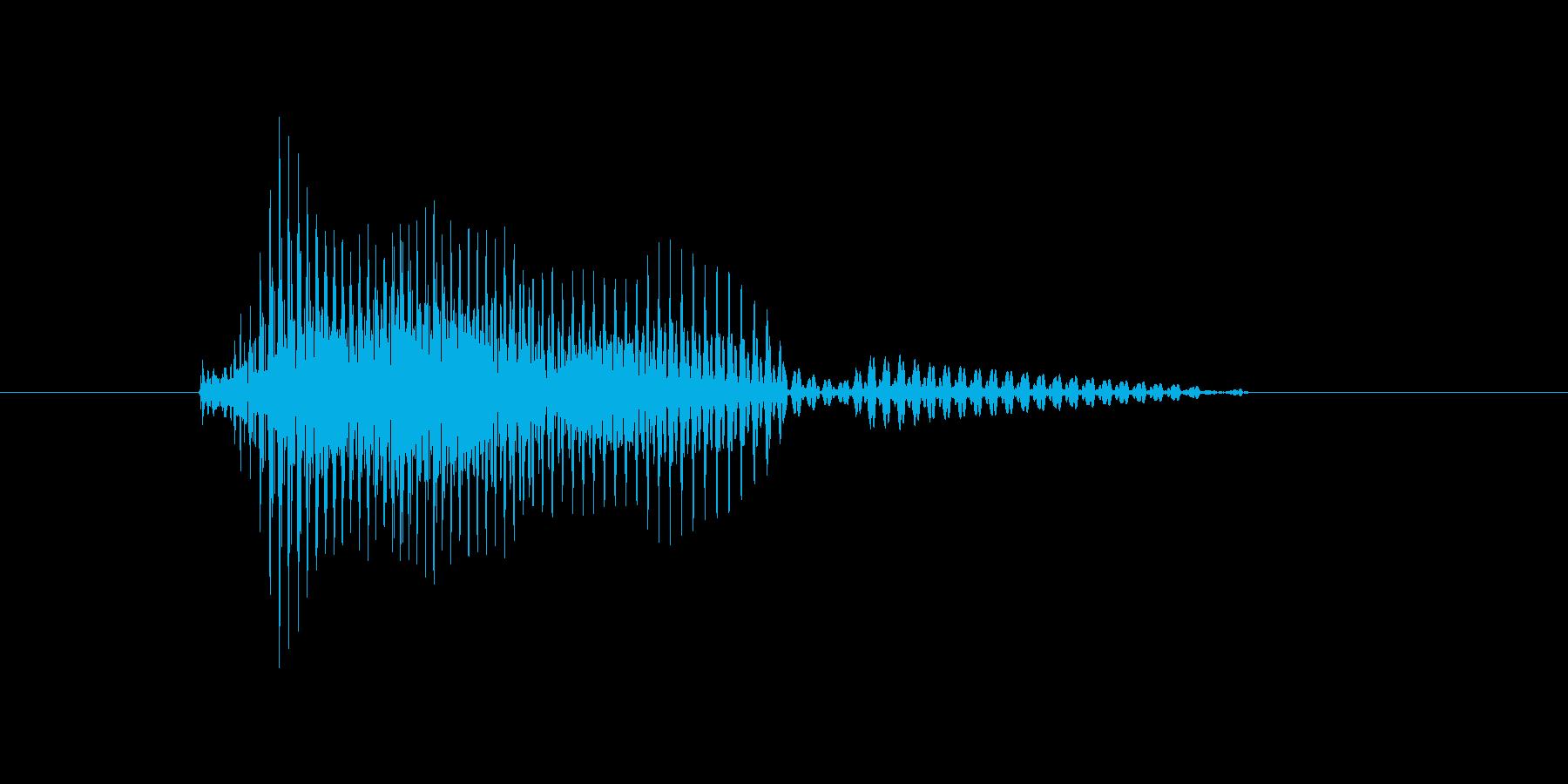 タイムリーの再生済みの波形