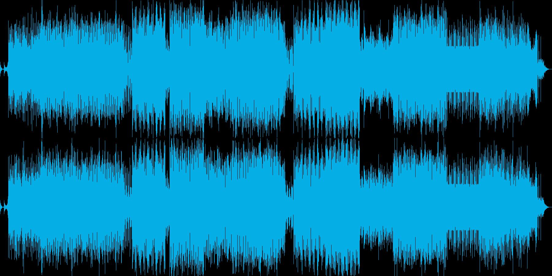 背景をポップします。音楽ジャンルの...の再生済みの波形
