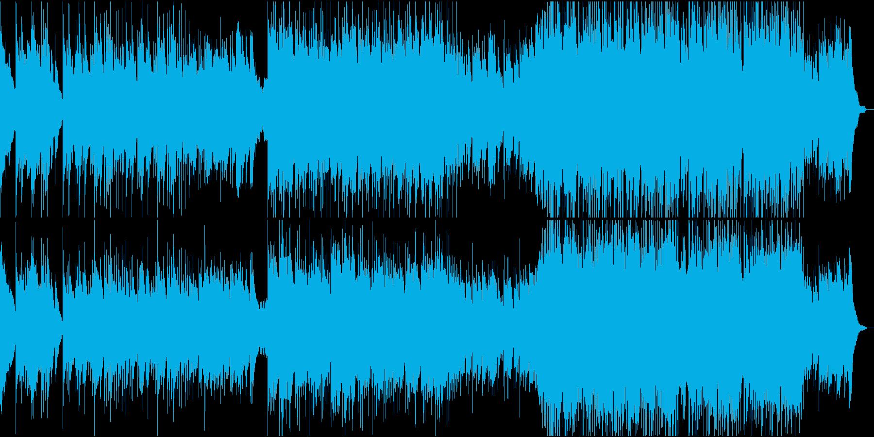 スローロマンティックな歌。の再生済みの波形