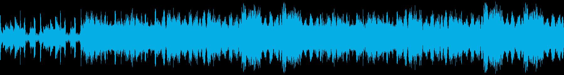 おしゃれでモダンなループ4の再生済みの波形