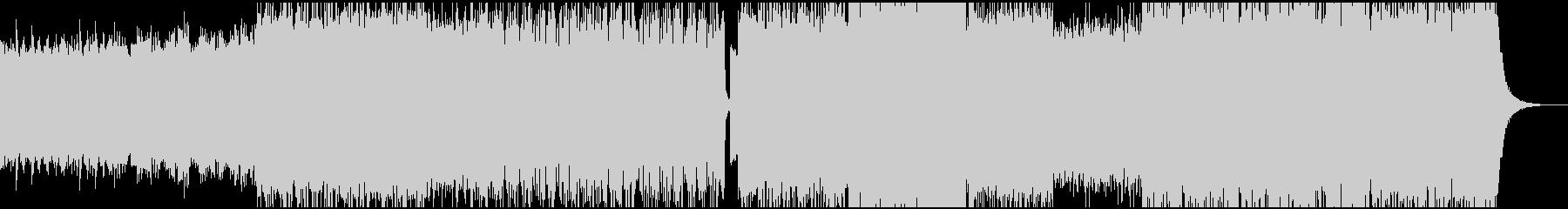 ケルト音楽民族音楽バグパイプの未再生の波形