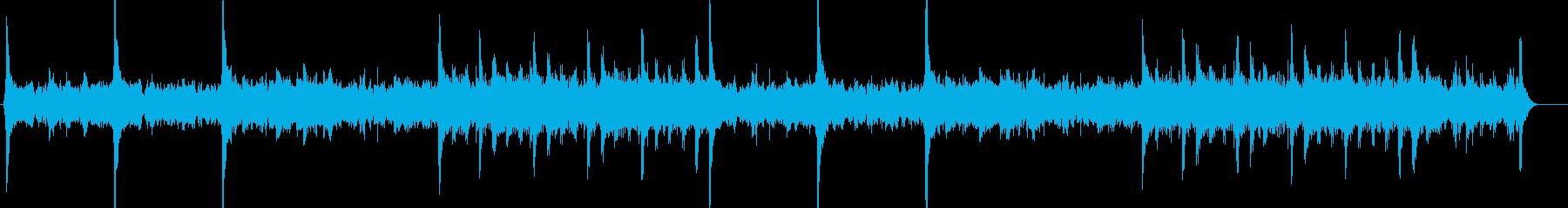 浸蝕(コールド・リップヘッド)の再生済みの波形