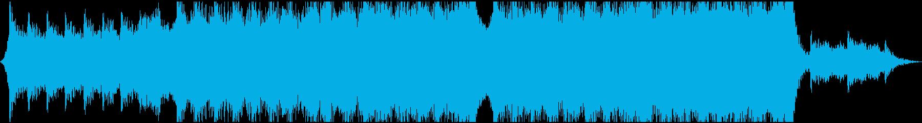 現代の交響曲 クラシック交響曲 企...の再生済みの波形